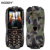 XGODY P10 Unlock 2G GSM Daily Waterproof Shockproof Phone Dual Sim Card Rugged Cheap Russian Button