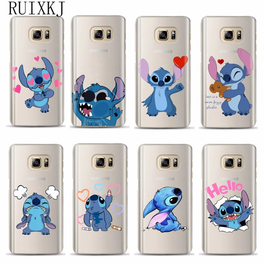 coque samsung j3 2017 stitch