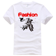 2019 New Fashion Motorcycle Printed T Shirt Casual Short Sleeve Cotton Tops Tees Cool Design Tee