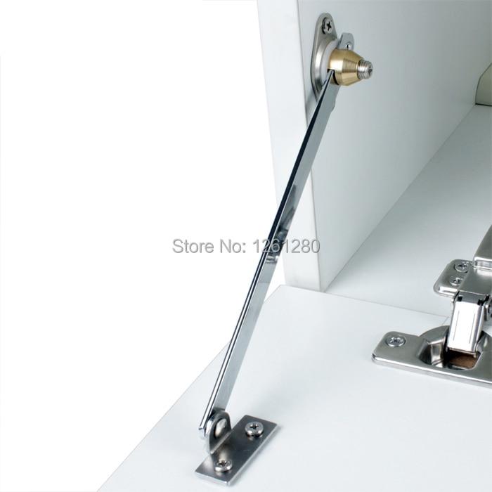 все цены на free shipping furniture hinge Cupboard door support rod door slide positioning rod connecting rod house hardware bracket fitting онлайн