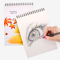 Lovely Fresh Sketchbook Paper 50 Sheets Hand Painted Book Creative Diary Notebook Paper Sketch Graffiti Painting