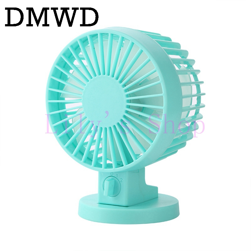 DMWD Mini mute USB Powered cooling fan Desktop PC Laptop Computer wind cooler blower por ...