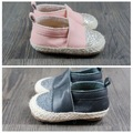 2016 elegante criança mocassins de couro Bling padrão Handmade do bebê meninas meninos de borracha inferior do bebê sapatos de caminhada