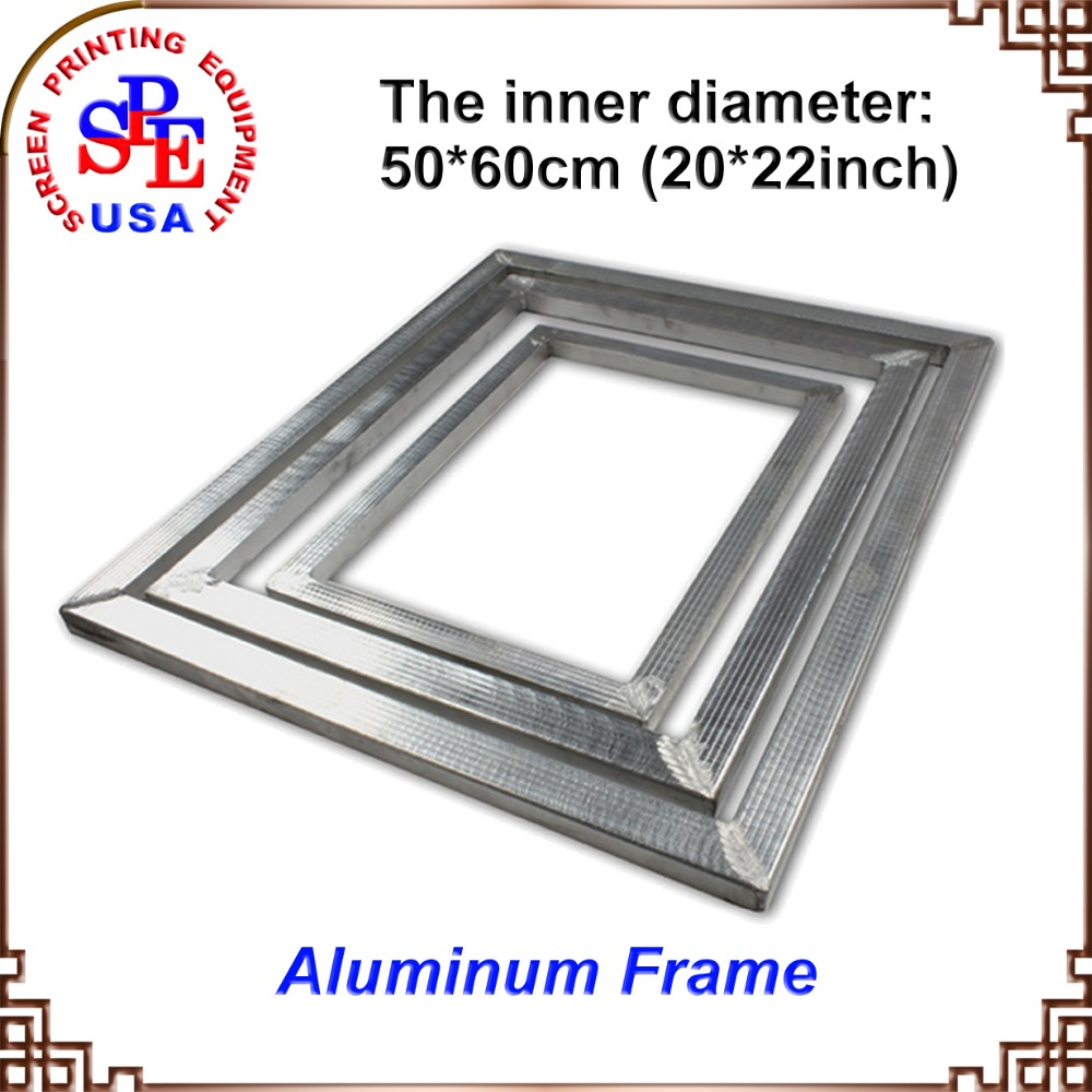 aluminum alloy screen frame for screen printing inner size 5060cmchina mainland