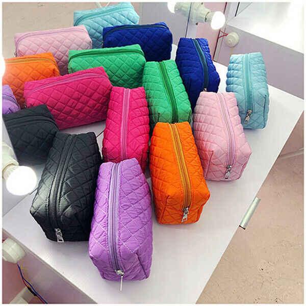 2019 Yeni Sıcak Kadın Su Geçirmez Çok Fonksiyonlu Seyahat Kozmetik Çantası Fermuar makyaj çantası Organizatör çanta Çanta