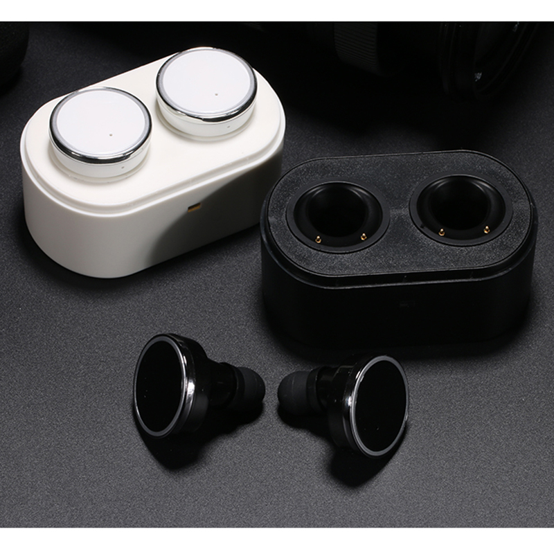 In Stock! Q800 Bluetooth Earphone Headset In Ear Left & Right Channel Two Stereo Double Use Ear