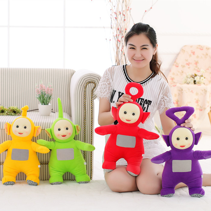4pcs/set 25CM 2019 Toys & Hobbies Stuffed Dolls Teletubbies Vivid Dolls High Quality Hot Selling Plush Toys