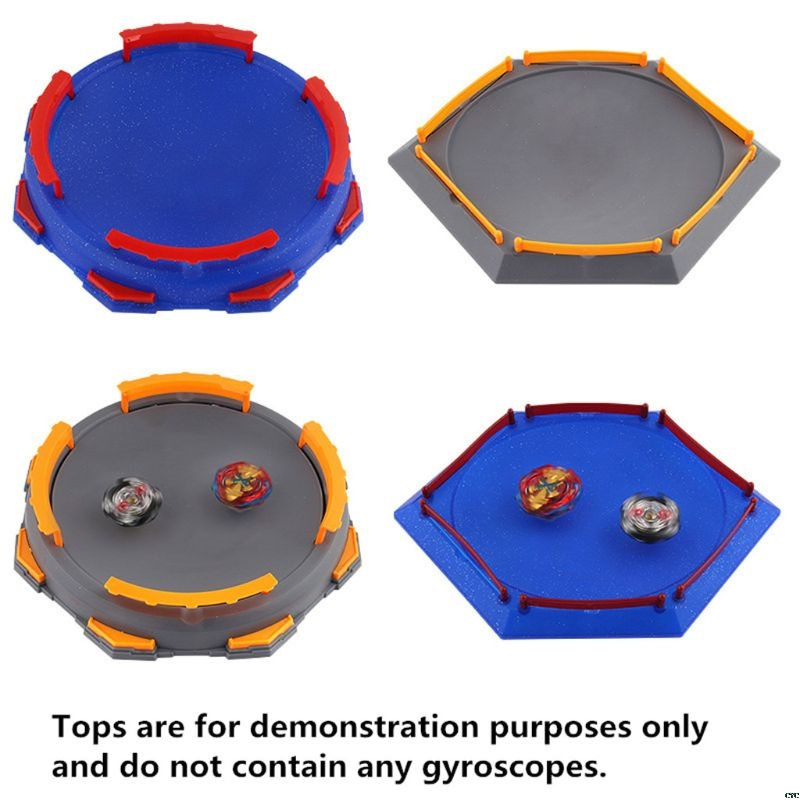 2019 New Arena Disk For Beyblade Burst Gyro Exciting Duel Spinning Top Stadium Battle Plate Toy Accessories Boys Gift Kids Toy