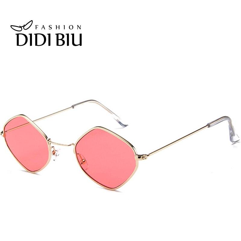 DIDI Rhombus Triangle Kleine Sonnenbrille Frauen Männer Transparent - Bekleidungszubehör - Foto 5