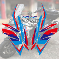 2018 New Hot sell Motorcycle Whole Vehicle Sticker Decals Stickers For Benelli TRK502 TRK 502 one set Full car sticker