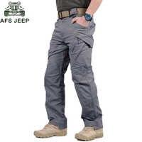 Pantaloni tattici Esercito Stile Militare Cargo Pantaloni Degli Uomini IX7 IX9 di Combattimento Pantaloni casual di Lavoro Pantaloni SWAT Tasca Sottile Pantaloni Larghi