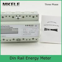 MK-LEM021JC ثلاث مراحل din din السكك الحديدية كيلو واط ساعة متر lcd