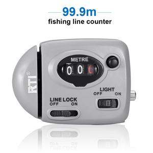 Image 1 - 99.9m Fishing Line Counter Digital Display Fishing Line Depth Finder Pesca Carp Pesca Fishing Tackle Tools