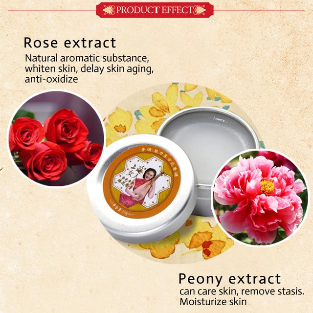 SHANGHI BEAUTY perfumes and fragrances for women Osmanthus solid perfume deodorant 100% original natural Air freshener skin care