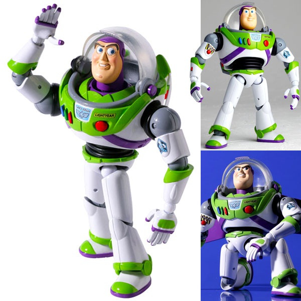 Toy Story 4 Buzz Lightyear NO.011 Sci-Fi Revoltech Action Figure Models Toy Story 3 4 Woody Buzz Lightyear Collect Gifts For Kid