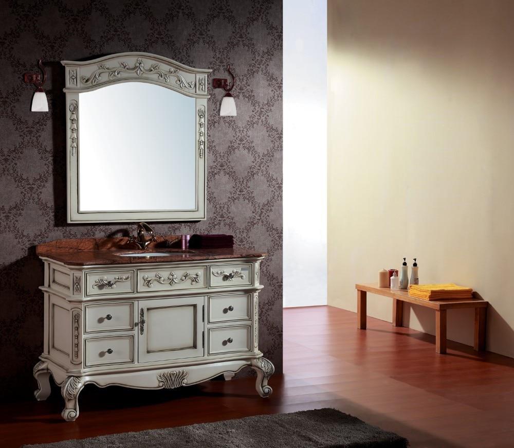 Solid Wood Bathroom Vanities Cabinets popular vanity top cabinets-buy cheap vanity top cabinets lots