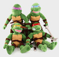 One piece 28cm hero star Turtles plush toy,hero turtle,cool gift movie toys for boys girls teenage friends anime party fighter