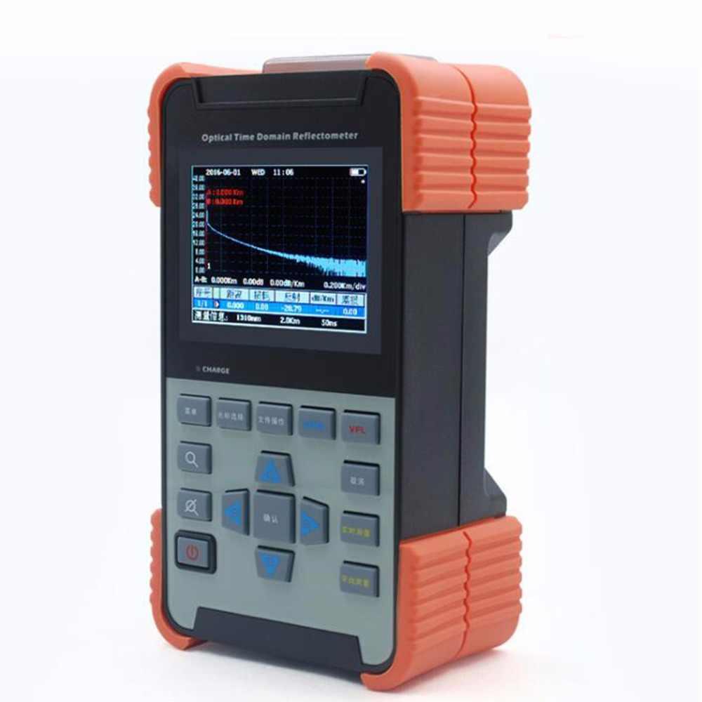 Волокно VFL инструменты FTTx AOR500A желтая куртка ручной otdr цена 26 дБ/28 дБ