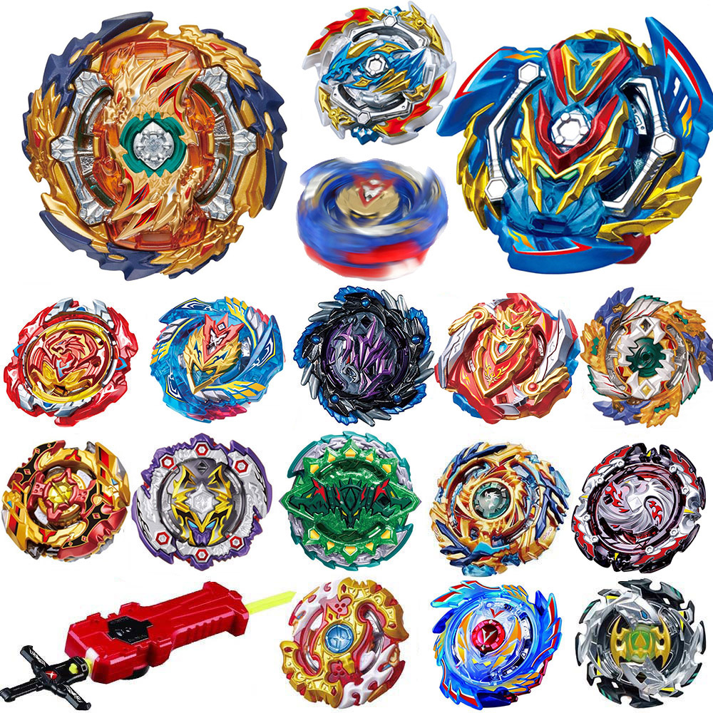 All Models Launchers Beyblade Burst GT Toys Arena Metal God Fafnir Spinning Top Bey Blade Blades Toy super bowl ring 2019