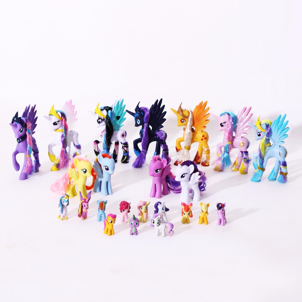 Unicorn Toys For Kids : Pvc horse action figures friendship is magic princess luna