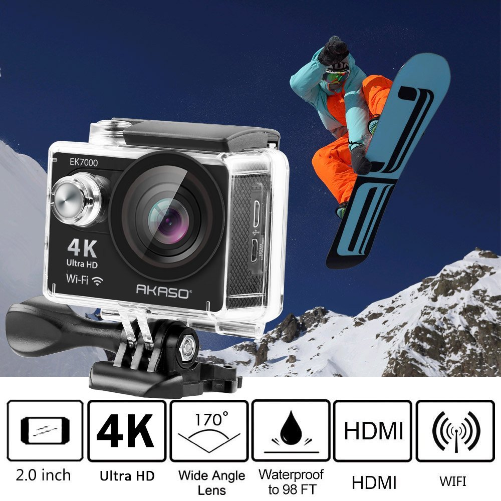 ACTION CAMERA FOR Audrey Lin f88 action camera red