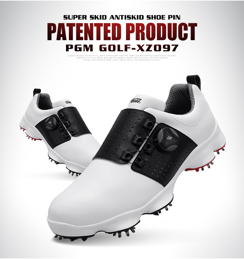2019 New PGM Golf Shoes Men Sports Shoes Waterproof Knobs Buckle Breathable Anti-slip Mens Training Sneakers2019 New PGM Golf Shoes Men Sports Shoes Waterproof Knobs Buckle Breathable Anti-slip Mens Training Sneakers