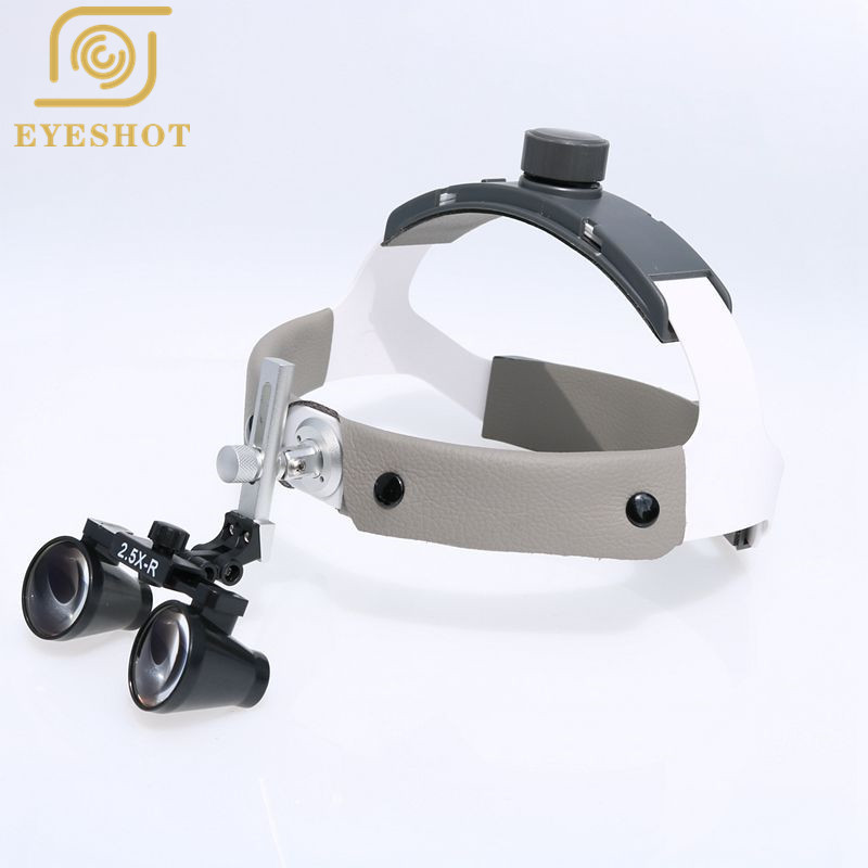 High 2.5X/3.5X Magnifier Wearing Style Medical Magnifier Dentist Dental Surgical Medical Binocular Loupes Magnifying Glass