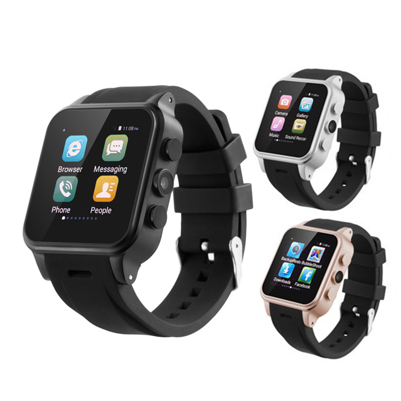 Android 3G Smartwatch Heart Rate Tracker Smart Watch Support SIM WIFI GPS G-Sensor Smartwatches For Android IOS Smartphone smart phone watch 3g 2g wifi zeblaze blitz camera browser heart rate monitoring android 5 1 smart watch gps camera sim card