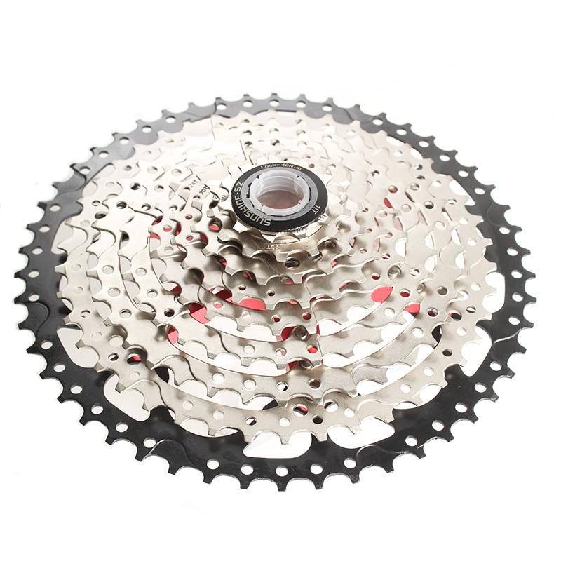 NEW SUNSHINE MTB Bicycle 11 Speeds 11-50T Cassettes Road Mountain Bike Cassette
