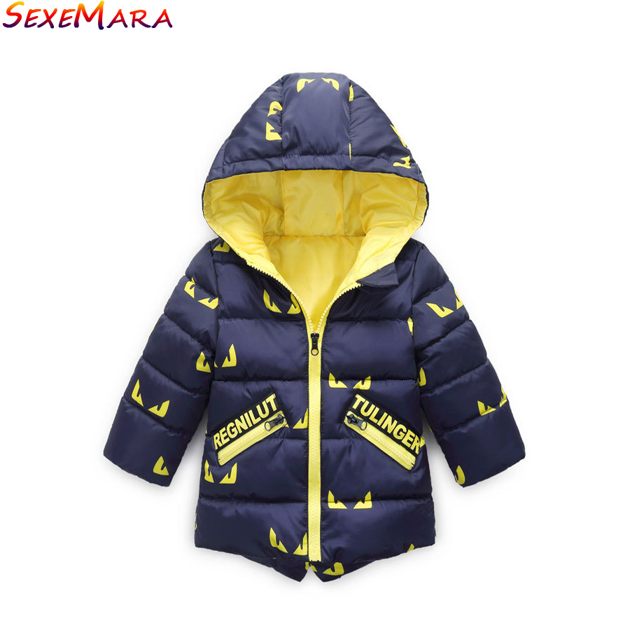 Small Children Cotton Coat Cuties Children stamp Waterproof breathable slim short cotton padded Jacket Cartoon fashion Coat нижнее белье disney 041100972 cuties 2014 9721 9726