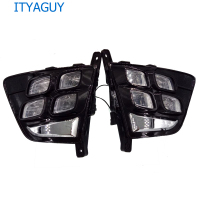 2pcs Led Daytime Running Lamp Car 12v Led Light Drl For Hyundai Creta IX25 2014 2015