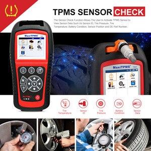 Image 2 - AUTEL TS601 OBD2 Code Reader Scanner OBDII Car Diagnostic Tool Activate TPMS Sensor Programming MX Sensor Tire Repair Tool