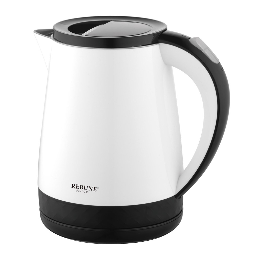 REBUNE 1.2L Electric Kettle Auto Power-off Protection Wired Handheld Instant Heating Electric Kettle Removable filter