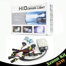 55 Вт ксенона лампы балласт 6000 К холодный белый фар автомобиля противотуманной фары дневного света H1 H3 H7 H8 / 9 / 11 9005 нв3 9006 880 881