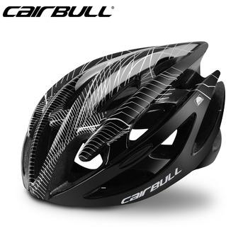 2018 CAIRBULL kaski rowerowe mężczyźni kobiety kask rowerowy do roweru szosowego i górskiego integralnie formowane kaski rowerowe tanie i dobre opinie (Dorośli) mężczyzn CN (pochodzenie) 195g(M) 225g(L) 8-15 Formowane integralnie kask CAIRBULL-01(STERLING) S M(52-58CM) M L(58-62CM)