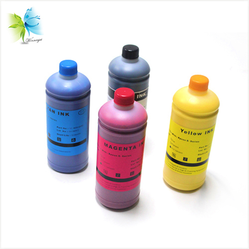 Winnerjet 4 Color bulk Eco-solvent ink for <font><b>Epson</b></font> Surecolor <font><b>S30670</b></font> printer to printing PVC sheet,Car Wraps,Banners,Canvas,Slides image