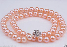 Eternal wedding Women Gift word 925 Sterling silver real natural big DYY 915 +++ New AAA Natural 7-8MM white Sea
