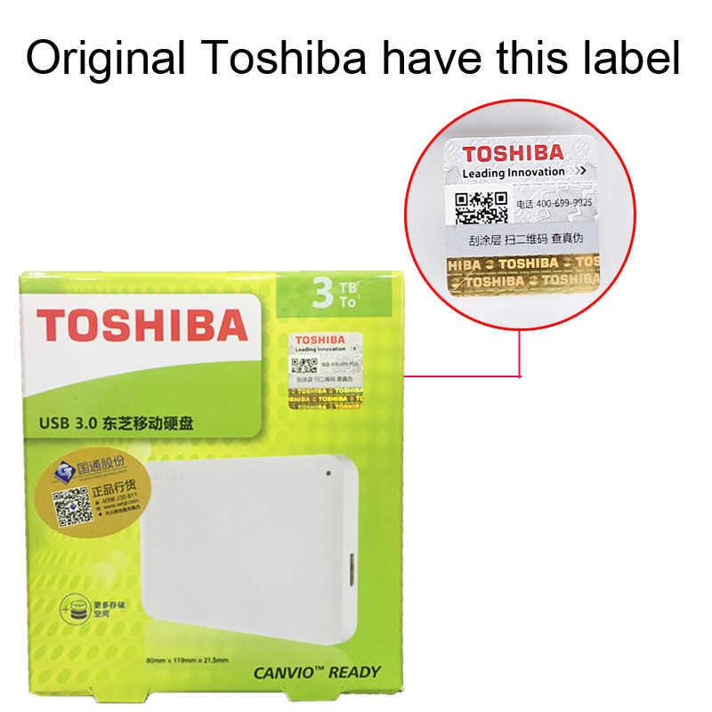 "Toshiba Canvio bases prêt disque 3 to HDD 2.5 ""USB 3.0 disque dur externe 2 to 1 to 500G disque dur hd externo externo disque dur"