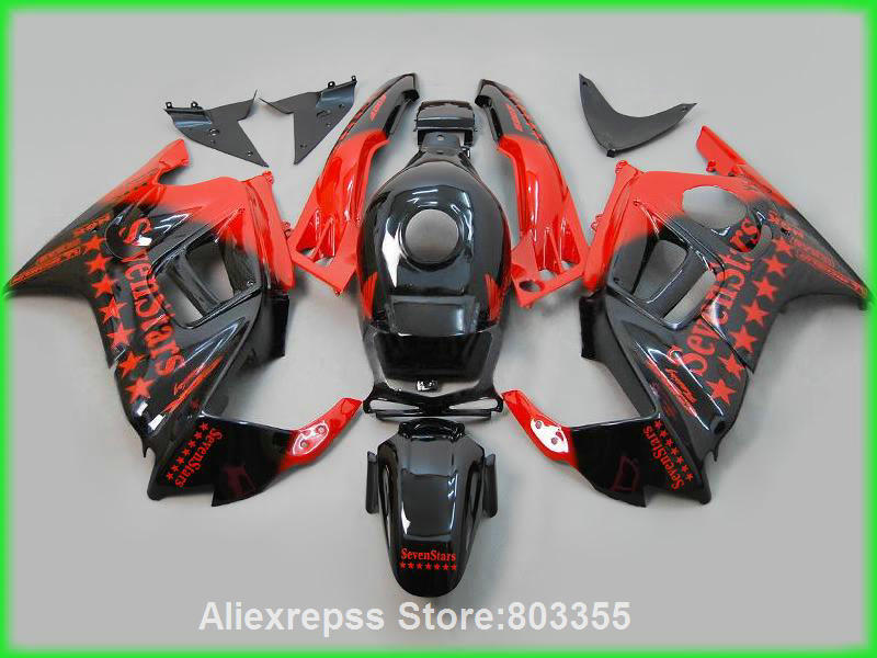 Seven star sticker for Honda CBR 600 f3 1996 1995 Fairings cbr 600 ( Red black ) fairing kit 95 96 xl73 ep f15 black