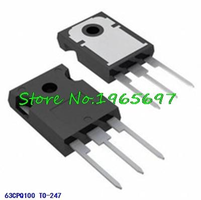 10pcs/lot 63CPQ100PBF 63CPQ100 TO-247 100V 63A In Stock