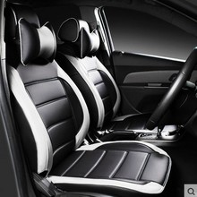 customize car seat covers for Ford Mondeo Fiesta Focus Escape kuga Ecosport leather cushion seats Opel Insignia Toyota camry CC