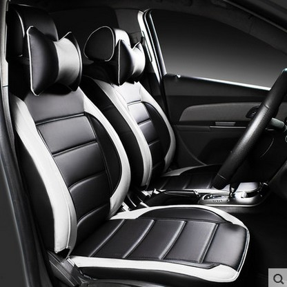 Customize Car Seat Covers For Ford Mondeo Fiesta Focus Escape Kuga Ecosport Leather Cushion Seats Opel