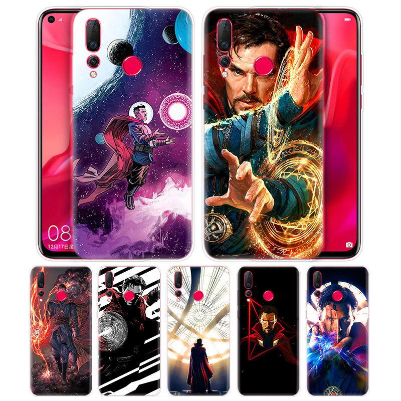 Marvel Doctor Strange Cartoon Case Coque for Huawei Honor 20 10 8S 8A 8C 8X Play 20i V20 Lite Pro Y9 Y7 Y6 Y5 2019 2018 Fundas image