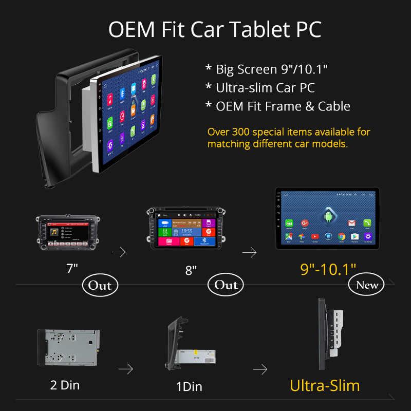 4G Lte todos Netcom Android 8,0 coche DVD GPS Player para Toyota Land Cruiser 200 LC200 2007-2012 radio DE NAVEGACIÓN