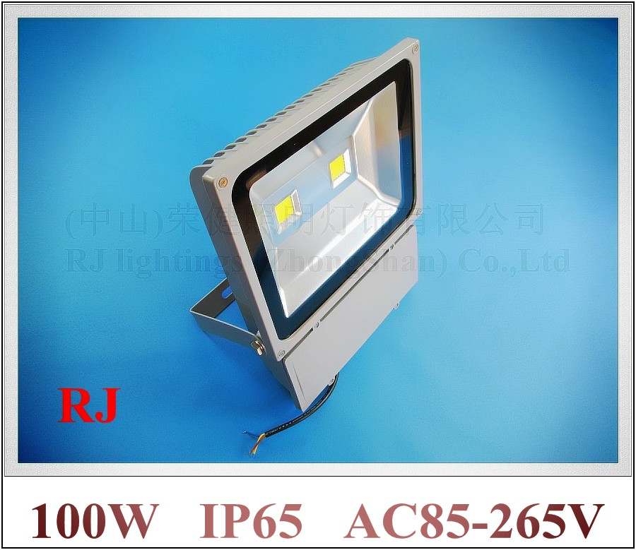 LED flood light 100W(2 X 50W) LED floodlight spotlight flood lamp wall washer outdoor AC85-265V 7000-8000lm new design led wall washer light lamp led flood light spot lamp project light 36w 36 led ac85 265v rgb and single color optional