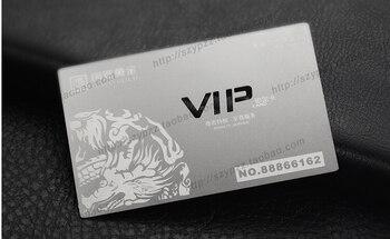 Metallic Color, metal business cards , 100pcs a lot  Deluxe Metal Business Card Vip Cards,Double-side free shipping  NO.3028