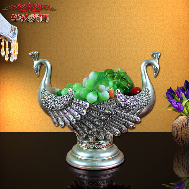 Simple Modern Living Room Table Decorations Of High Grade Resin Are
