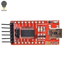 WAVGAT FT232RL FTDI USB 3,3 В 5,5 В к TTL модуль последовательного адаптера для Arduino FT232 мини-порта. Купите хорошее качество, пожалуйста, выберите меня
