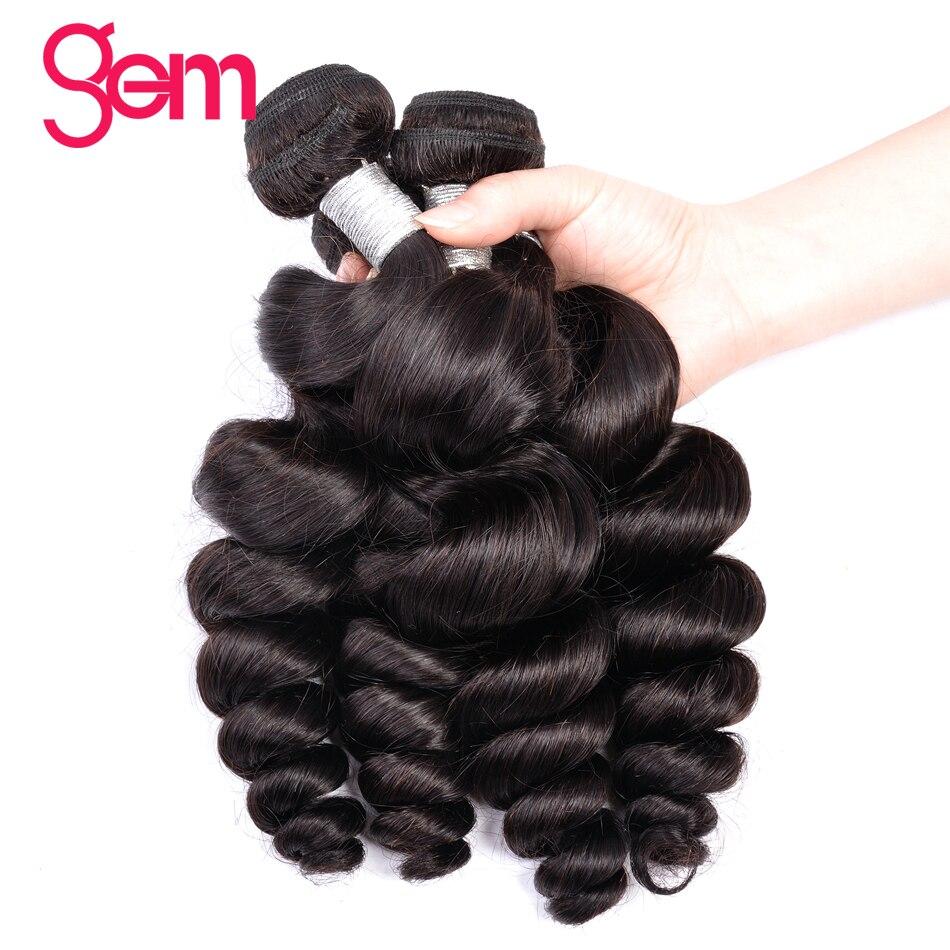 Edelstein Schönheit Versorgung Brasilianer Remy Haar Lose Welle 1/3/4 Stücke 100% Menschliches Haar Weave Bundles Natürliche Farbe Kann Gefärbt Und Gebleicht