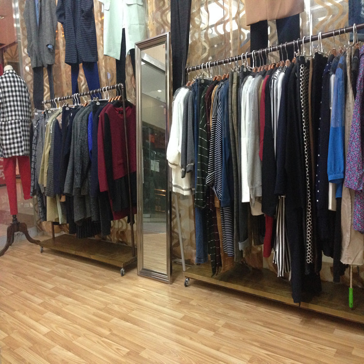 clothing racks display floor iron clothing rack wedding clothes men and women hanging clothes rack in the island shelf